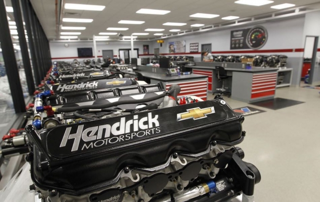 Hendrick Motorsports Engines Win Sprint Cup Nationwide