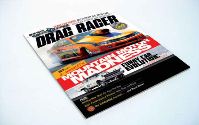 TMS Titanium featured in Drag Racer Magazine!